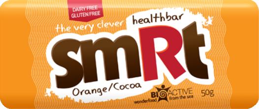 SMRT Bar, een gezond tussendoortje met onder andere Nori zeewier